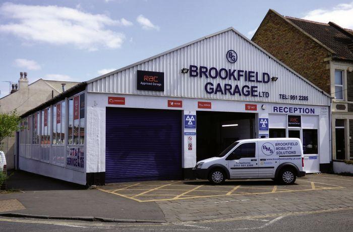 Entrance of Brookfield Garage Ltd
