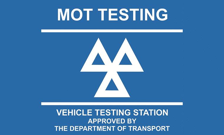 MOT testing vehicle testing station